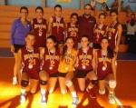 Equipo Junior Femenino Volibol 2013