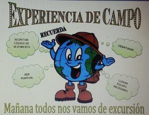 Tercera Experiencia de Campo
