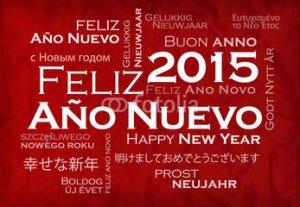2015 Feliz ano nuevo