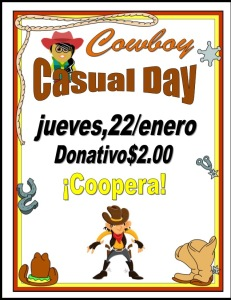 Cowboy Casual Day