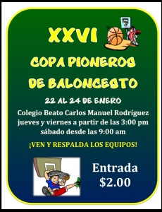 Torneo  Baloncesto 2015