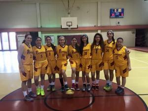 Equipo Junior femenino baloncesto 2014-2015