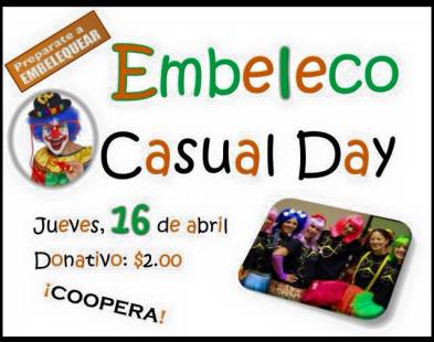 Embeleco Casual Day