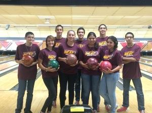 Equipo bowling 2015
