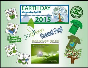 Go Green Casual Day