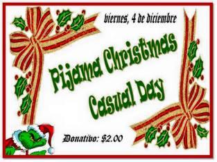 2015 Christmas Casual Day
