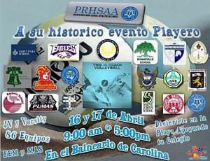 Voleibol playero PRHSAA