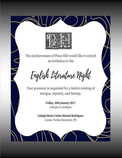 english-literature-night-invitation