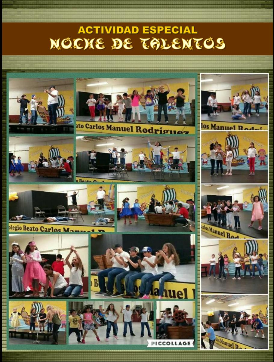 Colegio Beato Carlos Manuel | Actividades y eventos en el